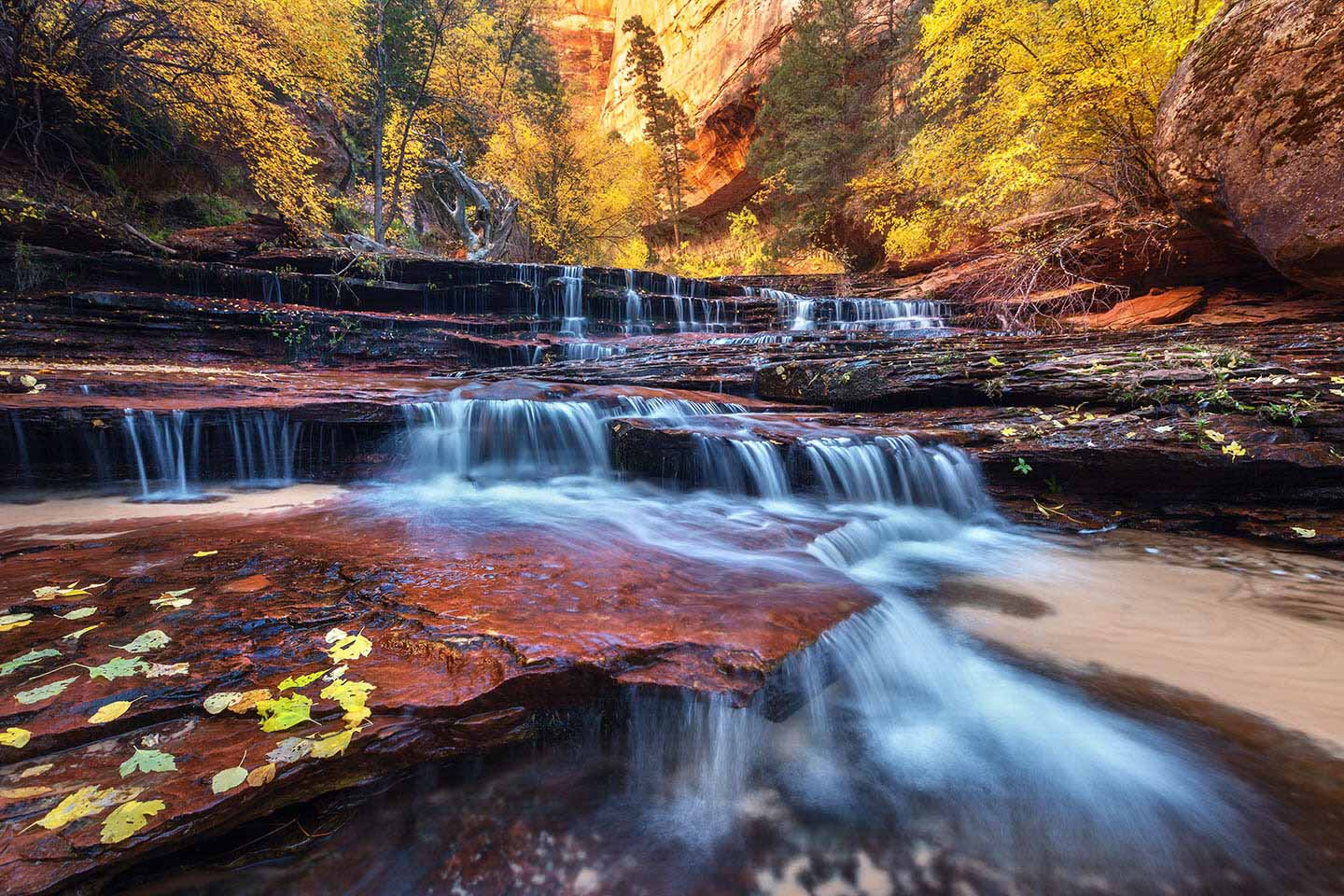Sandstone Cascades Limited Edition Print